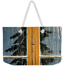 Stavkirke Reflection Weekender Tote Bag