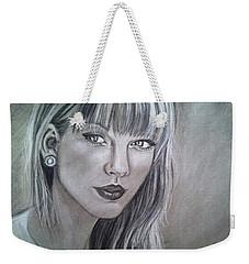 Stay Beautiful Weekender Tote Bag by Maria Ferrante