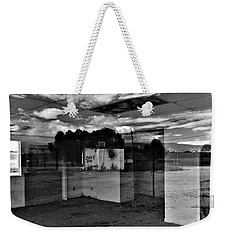 Weekender Tote Bag featuring the photograph Stay Out by David Pantuso