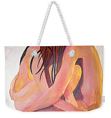 Staying In Touch Weekender Tote Bag by Tracey Harrington-Simpson