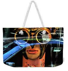 Stealth Mode Weekender Tote Bag
