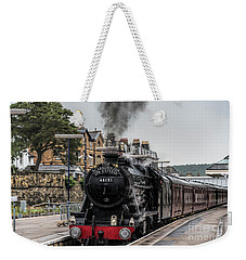 Steam Locomotive 48151 Weekender Tote Bag