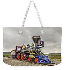 Steam Locomotive Jupiter Weekender Tote Bag