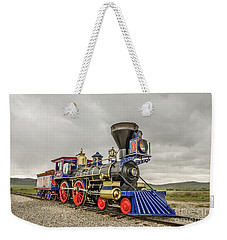 Weekender Tote Bag featuring the photograph Steam Locomotive Jupiter by Sue Smith
