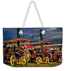 Weekender Tote Bag featuring the photograph Steam Power by Chris Lord