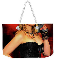 Steam Punk Gun Figther Weekender Tote Bag