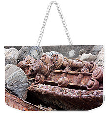 Steam Shovel Number Four Weekender Tote Bag by Kandy Hurley