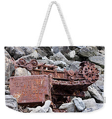 Steam Shovel Number One Weekender Tote Bag by Kandy Hurley