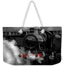 Steam Train Selective Colour Weekender Tote Bag