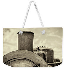 Weekender Tote Bag featuring the photograph Steam Train Series No 2 by Clare Bambers