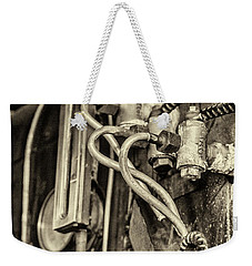 Weekender Tote Bag featuring the photograph Steam Train Series No 36 by Clare Bambers