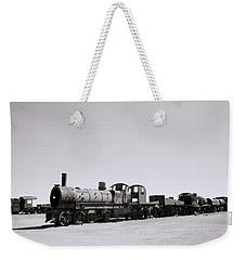Steam Trains Weekender Tote Bag by Shaun Higson