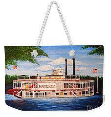 Steamboat On The Mississippi Weekender Tote Bag