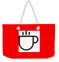 Steamed Weekender Tote Bag by Now