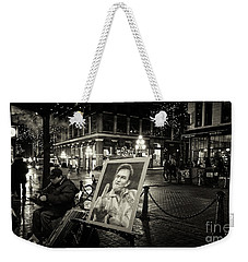 Steamin' Johnny Weekender Tote Bag