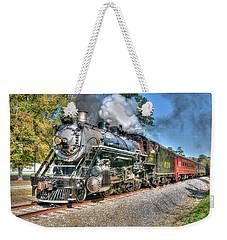 Steaming Weekender Tote Bag