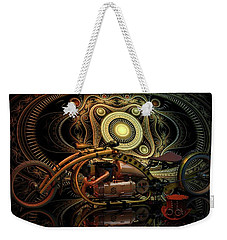 Weekender Tote Bag featuring the photograph Steampunk Chopper by Louis Ferreira