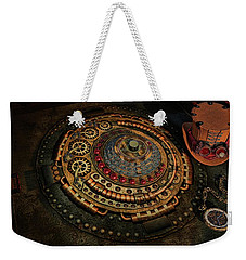 Weekender Tote Bag featuring the photograph Steampunk by Louis Ferreira