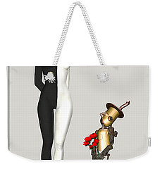 Steampunk Suitor Weekender Tote Bag