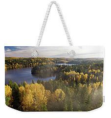 Steamy Forest Weekender Tote Bag by Teemu Tretjakov