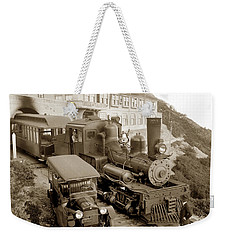 Stean Engine No. 8 Mount Tamalpais Circa 1920 Weekender Tote Bag