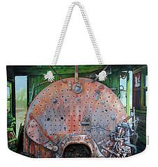 Steel Heart Weekender Tote Bag