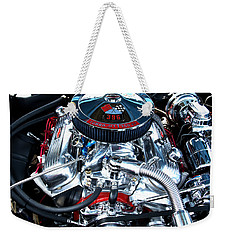 Weekender Tote Bag featuring the photograph Steel Heartbeat by Rebecca Davis