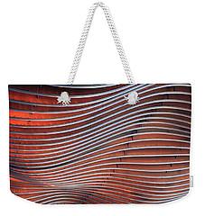 Steel Ribbons Weekender Tote Bag