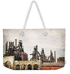 Steel Stacks  Weekender Tote Bag