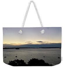 Steely Dawn Weekender Tote Bag