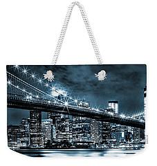 Steely Skyline Weekender Tote Bag