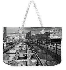 Steelyard Tracks 1 Weekender Tote Bag