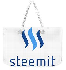 Steemit Weekender Tote Bag