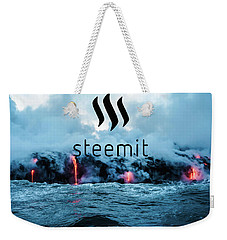 Steemit Heats Up Weekender Tote Bag
