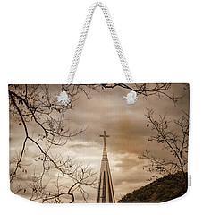 Steeple Of Time Weekender Tote Bag