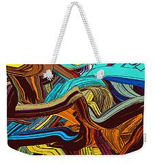 Steins Lines Weekender Tote Bag