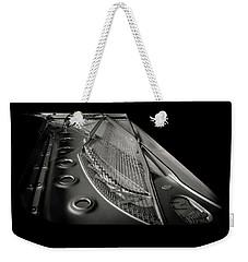 Steinway Guts Bw Weekender Tote Bag