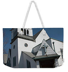 Steinwy Reformed Church Steinway Reformed Church Astoria, N.y. Weekender Tote Bag