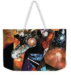 Stellar Saxophonist Weekender Tote Bag