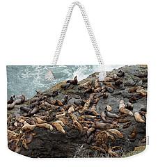 Steller Sea Lions Weekender Tote Bag