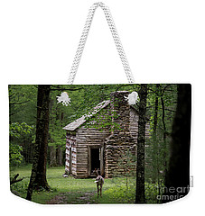 Weekender Tote Bag featuring the photograph Step Back In Time by Andrea Silies
