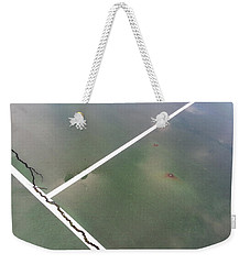 Weekender Tote Bag featuring the photograph Step On A Crack... by Robert Knight