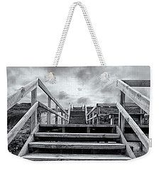 Weekender Tote Bag featuring the photograph Step On Up by Linda Lees