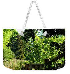 Step To The Wild Nature Weekender Tote Bag