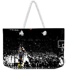 Steph Curry Its Good Weekender Tote Bag by Brian Reaves