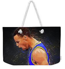 Steph Curry Weekender Tote Bag by Semih Yurdabak