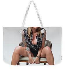 Stephanie Sitting 2 Weekender Tote Bag