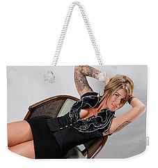 Stephanie Sitting 3 Weekender Tote Bag