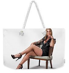 Stephanie Sitting Weekender Tote Bag