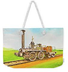 Steam Engine Mississippi Weekender Tote Bag